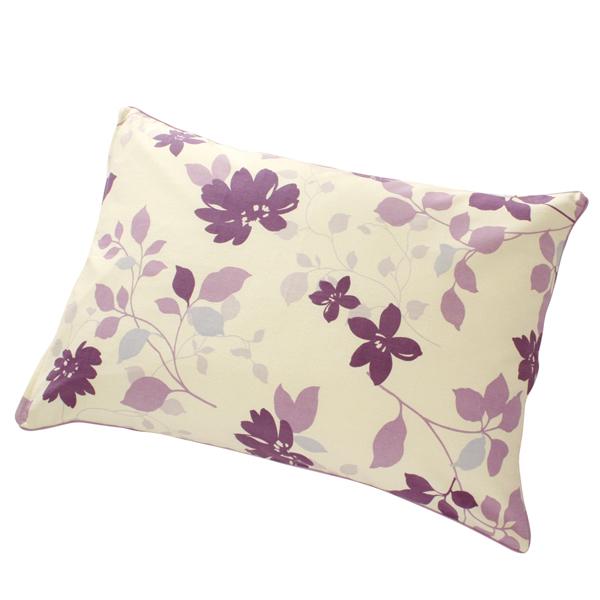 かわいいピロケース落ち着いた色合いです 送料無料でお届けします 枕カバー ピローケース 43x63cm 35x50cm 綿100% フラワー ラベンダー かわいい ブラウン バースデー 記念日 ギフト 贈物 お勧め 通販 紫 パープル ピロケース 花柄
