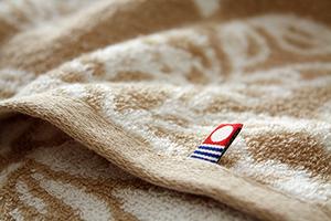 素材選びから織り染めに至るまで手間暇をかけた特別なタオル 高品質 今治タオル 太陽と大地の贈り物 植物柄 店内限界値引き中&セルフラッピング無料 ブラウン バスタオル