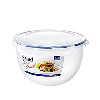 中古 輸入品 ディスカウント 未使用未開封 Lock 16.8 Cups Salad-To-Go Handle Clear Bowl 今季も再入荷 by with LockandLock