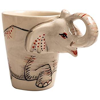 中古 輸入品 未使用未開封 ホルダー マグカップ コーヒー 手数料無料 ティーカップ 象 かわいい ぽっちゃり型 セラミック 直営ストア カップ 面白い動物 女性用 旅行 風水 幸運 ギフト 白 リサイ