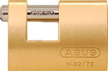 中古 輸入品 未使用未開封 ABUS 82 70 KD B All 信憑 Body Different Weather Monoblock Brass Solid by 新着セール Padlock Keyed