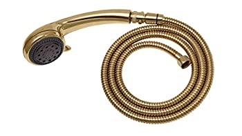 中古 輸入品 豪華な 未使用未開封 Adjustable Gold 引き出物 Hand Held Unit Shower