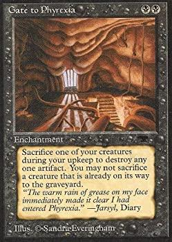 中古 輸入品 未使用未開封 Magic: the 供え Gathering Antiquities to 気質アップ Phyrexia Gate -