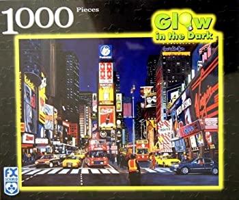 中古 輸入品 未使用未開封 F.X Schmid 買収 Glow in 暗闇で光るジグソーパズル Square Times Dark 1000ピース The 新色追加して再販