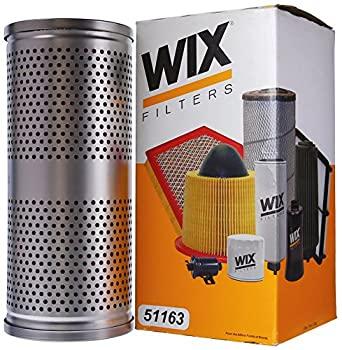 誕生日/お祝い 中古 輸入品 未使用未開封 超定番 WIX Filters 1個入り 高耐久カートリッジ 油圧メタル 51163 -