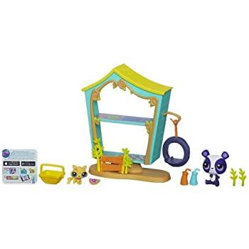 商い 中古 輸入品 未使用未開封 Littlest Pet 発売モデル Shop 並行輸入品 Cozy Clubhouse Playset