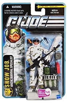 中古 輸入品 未使用未開封 Hasbro 限定Special Price 未使用品 G.I. Joe The Pursuit of Action Job Cobra Snow Figure 3.75 並行輸入品 Inches