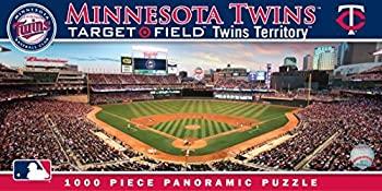 中古 輸入品 直輸入品激安 未使用未開封 MasterPieces MLB 迅速な対応で商品をお届け致します Minnesota Twins Stadium 並行輸入品 Pieces Panoramic Jigsaw Puzzle%カンマ% Field%カンマ% Target 1000