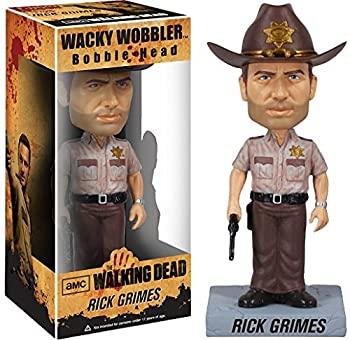 【中古】【輸入品・未使用未開封】Walking Dead Rick Grimes Bobble Head Figure x Wacky Wobbler Series [並行輸入品]
