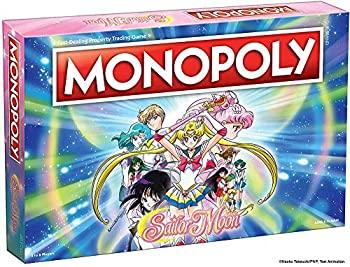 中古 輸入品 未使用未開封 USAOPOLY: Monopoly Sailor Moon Board Game 1年保証 Based TV Custom 直輸入品激安 Money Tokens%カンマ% and Anime Show on The Popular