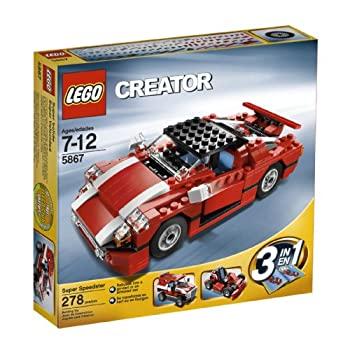 中古 新作からSALEアイテム等お得な商品 満載 輸入品 100%品質保証 未使用未開封 レゴクリエイターレッドカー5867LEGO Creator Car 並行輸入品 Red 5867