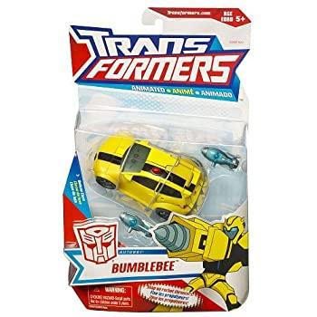 中古 輸入品 未使用未開封 Transformers 保証 Animated Deluxe Figure Bumblebee - Action Autobot 並行輸入品 売り出し