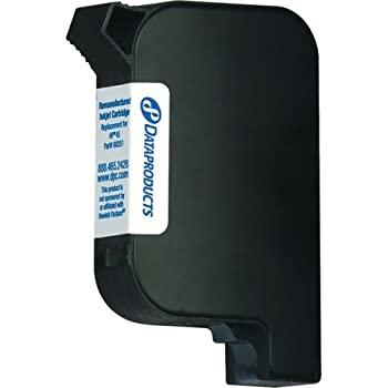 中古 輸入品 未使用未開封 Dataproducts Remanufactured Ink Cartridge 51645A for 並行輸入品 Black 購入 Replacement 激安 激安特価 送料無料 HP