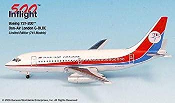 中古 輸入品 未使用未開封 ランキングTOP5 Dan Air London G-BLDE 737-200 Airplane 1:500 Model A015-IF5732002 Part# Die-Cast メーカー直売 Miniature 並行輸入品 Metal