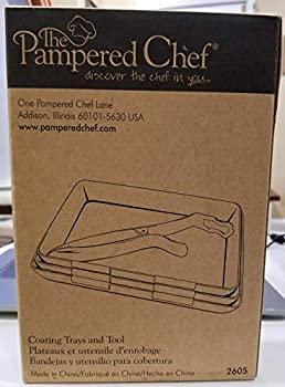 【中古】【輸入品・未使用未開封】Pampered Chefコーティングトレイとツール