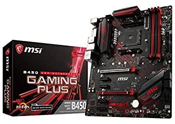 中古 輸入品 未使用未開封 MSI 売店 Performance <セール&特集> GAMING AMD Ryzen 第1世代と第2世代 AM4 DDR4 M.2 B450 ATXマザーボード PLUS HDMI DVI USB Crossfire 3