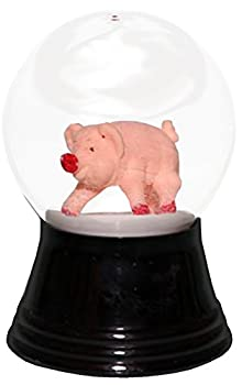 中古 新着セール 輸入品 未使用未開封 Multicolor - Alexander Taron Importer PR1240 Pig Small Decorative 3.8cm x with 7cm Perzy Snowglobe 10%OFF