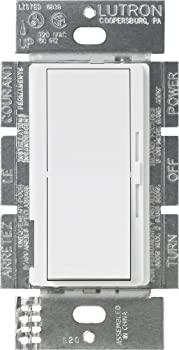 中古 輸入品 未使用未開封 Lutron DVF-103P-WH Diva 1000-watt 激安特価品 3-Wire ファッション通販 by 3-Way Fluorescent Dimmer White