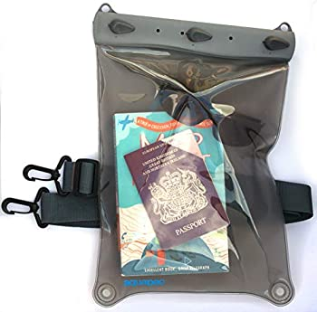 中古 人気急上昇 輸入品 未使用未開封 AQUAPAC 価格 交渉 送料無料 デジタルカメラケース ラージエレクトロニクスケース グレー 668 防水