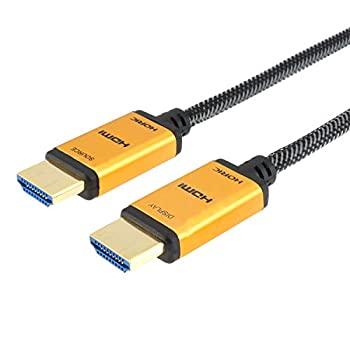 中古 輸入品日本仕様 ホーリック 光ファイバー HDMIケーブル 20m 18Gbps 4K メッシュタイプ 年間定番 至高 HH200-539GM HDR 3D 60p ゴールド 対応