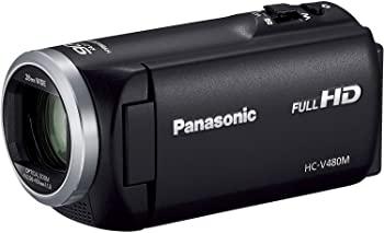 中古 輸入品日本仕様 パナソニック 人気の定番 HDビデオカメラ V480M 高倍率90倍ズーム 32GB HC-V480M-K ブラック いよいよ人気ブランド