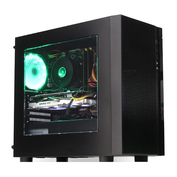 【お1人様1点限り】 【】パソコン ゲーミングPC デスクトップ 本体 自作機 GeForce GTX1060 6GB Windows10 Core i7 4770K 3.5GHz 16GB 新品SSD 512GB Libre Office搭載 緑色LED, 東海市 f3eabedf
