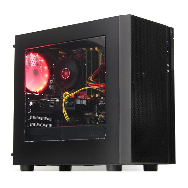 【お買得!】 【】パソコン ゲーミングPC デスクトップ 本体 自作機 GeForce GTX1060 6GB Windows10 Core i7 4770K 3.5GHz 16GB 新品SSD 512GB Libre Office搭載 赤色LED, エムオートギャラリー 202be61f