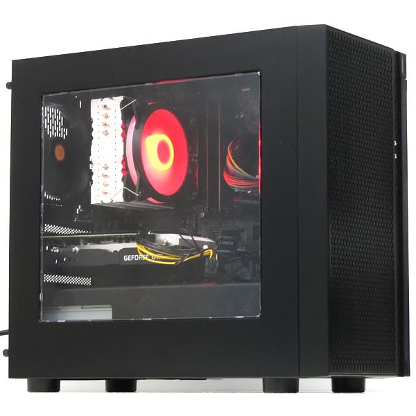 【中古】中古パソコン ゲーミングPC デスクトップ 本体 自作機 GeForce GTX1060 6GB Ryzen 5-1600X 3.6GHz 6コア12スレッド 16GB 新品SSD 512GB Windows10 Office ゲームパソコン ゲーム用 PUBG