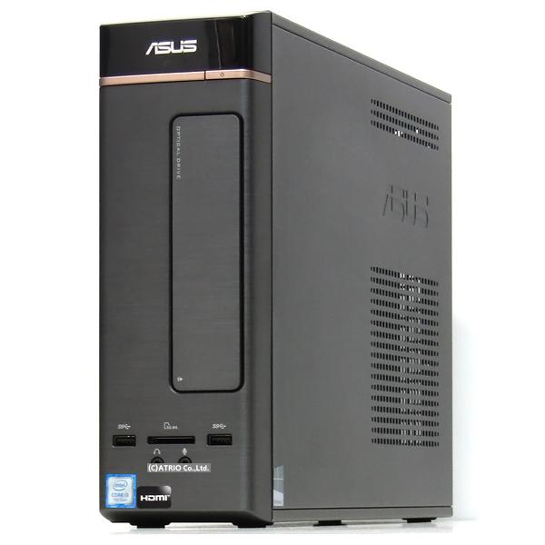 【中古】新品SSD メモリ8GB ASUS Vivo PC K20CD 第6世代 Core i3 3.6GHz Windows10 無線LAN Bluetooth LibreOffice 中古 デスクトップ 本体 省スペース