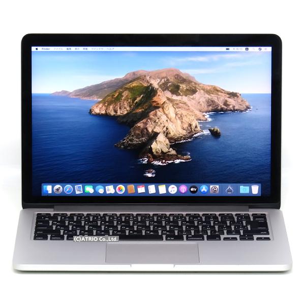 【中古】状態良 Apple MacBook Pro Early 2015 13インチ Retina Core i5 5257U 2.7GHz 8GB SSD128GB JIS 日本語 Webカメラ 中古パソコン ノートパソコン 本体 MF839J/A OS変更オプションあり テレワーク モバイル
