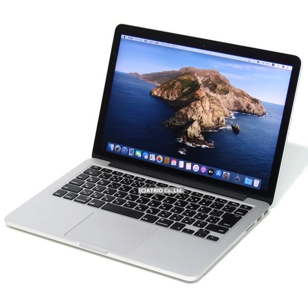 【中古】Apple MacBook Pro Early 2015 13インチ Retina Core i5 5257U 2.7GHz 8GB SSD128GB JISキー 日本語 Webカメラ 中古パソコン ノートパソコン 本体 MF839J/A OS変更オプションあり テレワーク モバイル