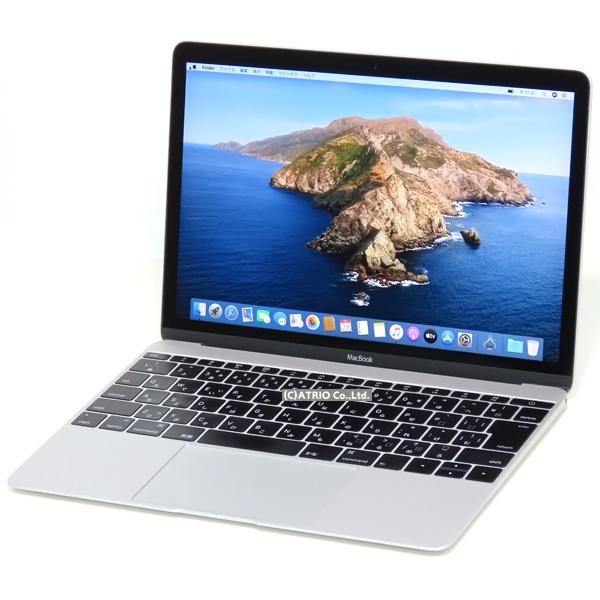 【中古】Apple MacBook Early 2015 Retina 12インチ Core M 5Y31 1.1GHz 8GB SSD256GB JISキー Webカメラ シルバー 中古パソコン ノートパソコン 本体 テレワーク モバイル MF855J/ A1537 OS変更オプションあり