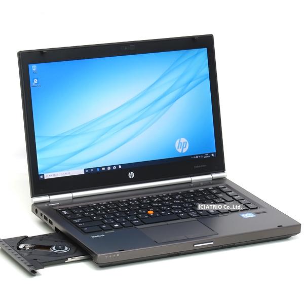 【中古】メモリ16GB SSD搭載 HP EliteBook 8470w Core i7 3630QM 4コア8スレッド Windows10 14インチ FirePro M2000 無線LAN Bluetooth LibreOffice 中古パソコン ノートパソコン 本体
