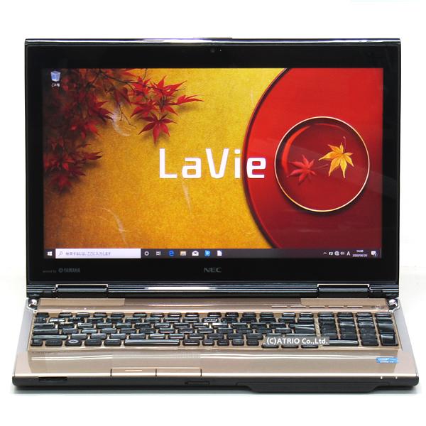 メモリ16GB 大容量新品SSD NEC LaVie LL750/H Core i7 3610QM 4コア Blu-ray Windows10 15インチ Webカメラ 無線LAN Bluetooth テンキー LibreOffice パソコン ノートパソコン 本体 テレワーク 在宅勤務 ゴールド:パソコンアトリオ