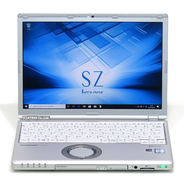 【中古】大容量新品SSD なめらかWUXGA液晶 パナソニック Let's note SZ5 第6世代 Core i5 メモリ4GB 12インチ Webカメラ 無線LAN Bluetooth Windows10 中古パソコン ノートパソコン 本体 モバイル テレワーク 在宅勤務