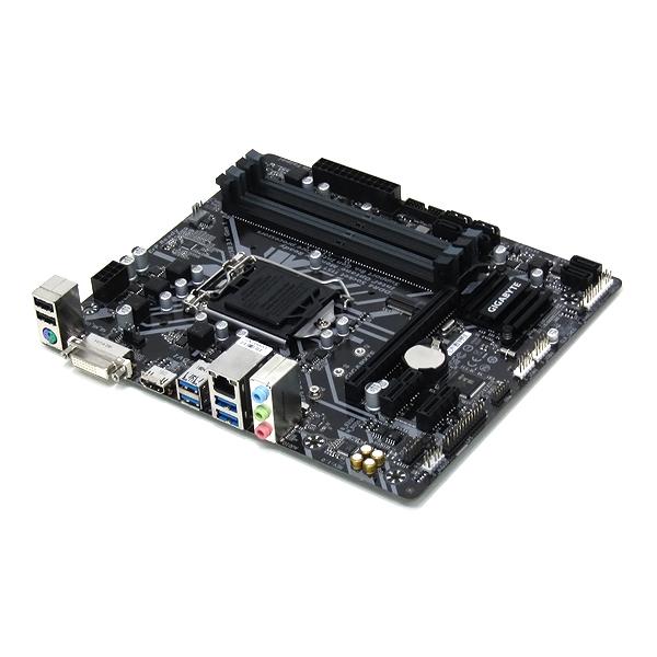 【中古】マザーボード GIGABYTE Z370M-DS3H Intel Z370 LGA1151 Micro ATX 第8世代 元箱付き 送料無料