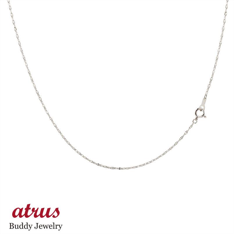 ロングネックレス プラチナ チェーン ペダルチェーン 鎖 レディース 70cm pt850 地金ネックレス ファッション お返し