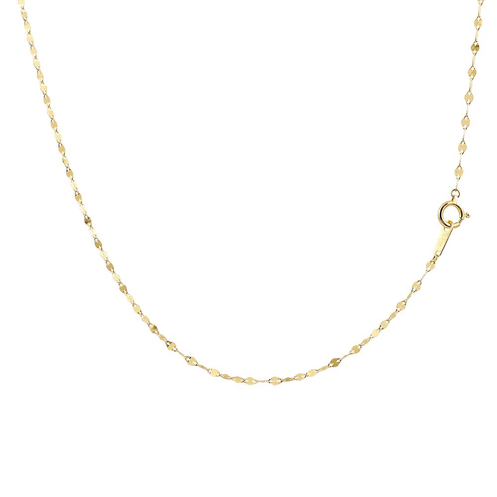 純金 ネックレス k24 ネックレスチェーン ペダルチェーン レディース 43cm 地金 ネックレス ファッション お返し