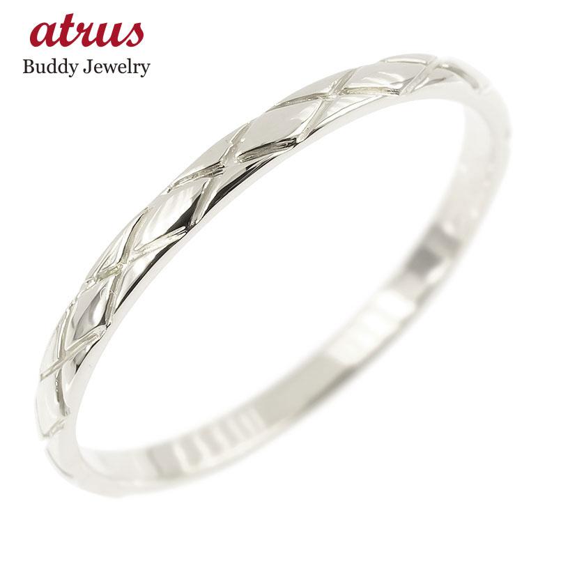 プラチナリング ピンキーリング pt900 極細 華奢 アンティーク ストレート 指輪 男性用 送料無料