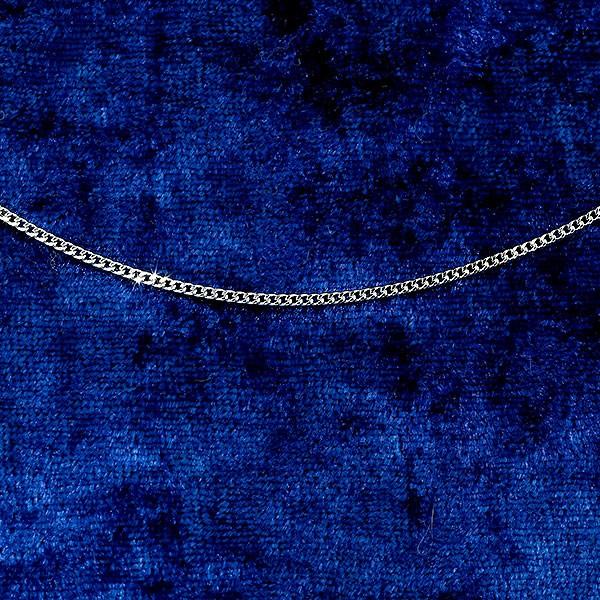 プラチナ ネックレス 喜平 プラチナ999 純プラチナ プラチナネックレス チェーン 2面カットキヘイ 幅1.4ミリ レディース 50cm 地金 検定マーク入り あすつく