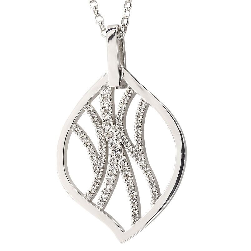 プラチナ950 ネックレス ダイヤモンド レディース pt950 リーフ ペンダント 透かし 葉 ダイヤ 女性 大人 40代 50代 60代 シンプル 人気 送料無料