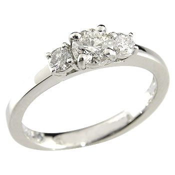 婚約指輪 エンゲージリング プラチナリング ダイヤモンド0.46ct 結婚指輪 一粒 大粒 SI 鑑定書付 ダイヤ ストレート 2.3 贈り物 誕生日プレゼント ギフト ファッション