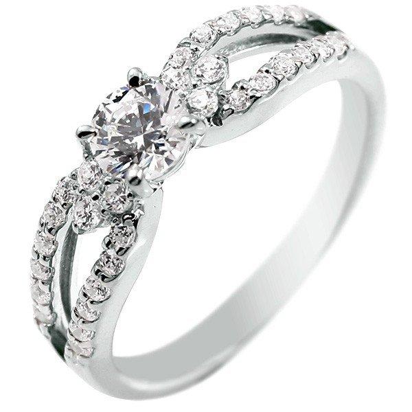 婚約指輪 プラチナ ダイヤモンド 一粒 大粒 エンゲージリング ダイヤ ストレート レディース ブライダルジュエリー ウエディング 贈り物 誕生日プレゼント ギフト ファッション お返し 妻 嫁 奥さん 女性 彼女 娘 母 祖母 パートナー 送料無料