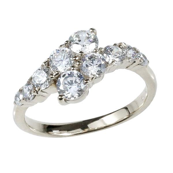 婚約指輪 プラチナ エンゲージリング ダイヤモンド ダイヤモンドリング ダイヤ ストレート 贈り物 誕生日プレゼント ギフト ファッション 妻 嫁 奥さん 女性 彼女 娘 母 祖母 パートナー 送料無料