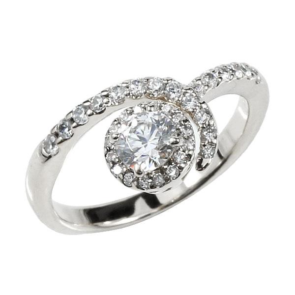 婚約指輪 エンゲージリング ダイヤモンド プラチナリング 取り巻き ダイヤ ストレート レディース ブライダルジュエリー ウエディング 贈り物 誕生日プレゼント ギフト ファッション お返し 妻 嫁 奥さん 女性 彼女 娘 母 祖母 パートナー 送料無料
