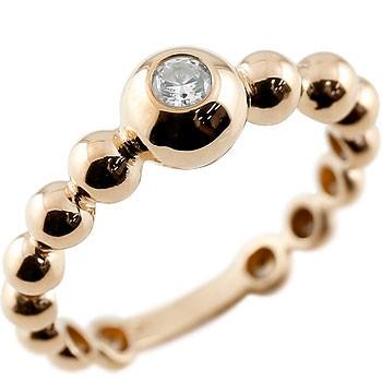 婚約指輪 エンゲージリング ダイヤモンド 指輪 ピンクゴールドk18 ダイヤ ダイヤモンドリング 一粒 レディース 18金 ストレート ブライダルジュエリー ウエディング 贈り物 誕生日プレゼント ギフト ファッション 妻 嫁 奥さん 女性 彼女 娘 母 祖母 パートナー 送料無料
