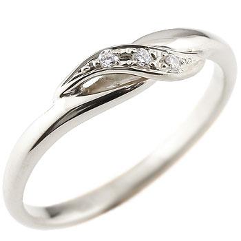 婚約指輪 エンゲージリング ダイヤモンド ピンキーリング ホワイトゴールドk18 ダイヤ 18金 ストレート 指輪 レディース ブライダルジュエリー ウエディング 贈り物 誕生日プレゼント ギフト ファッション お返し 妻 嫁 奥さん 女性 彼女 娘 母 祖母 パートナー 送料無料