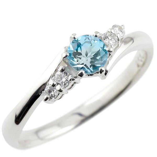 婚約指輪 エンゲージリング プラチナリング ブルートパーズ ダイヤモンド リング 指輪 一粒 大粒 pt900 ストレート レディース ブライダルジュエリー ウエディング 贈り物 誕生日プレゼント ギフト ファッション 妻 嫁 奥さん 女性 彼女 娘 母 祖母 パートナー 送料無料