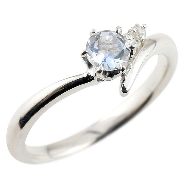 婚約指輪 エンゲージリング ブルームーンストーン ホワイトゴールドk18リング ダイヤモンド 指輪 ピンキーリング 一粒 大粒 k18 レディース 6月誕生石 贈り物 誕生日プレゼント ギフト ファッション お返し 妻 嫁 奥さん 女性 彼女 娘 母 祖母 パートナー 送料無料