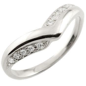V字 婚約指輪 プラチナ エンゲージリング ダイヤモンド 結婚 ダイヤモンドリング ウェーブリング ダイヤ レディース ブライダルジュエリー ウエディング 贈り物 誕生日プレゼント ギフト ファッション お返し 妻 嫁 奥さん 女性 彼女 娘 母 祖母 パートナー 送料無料